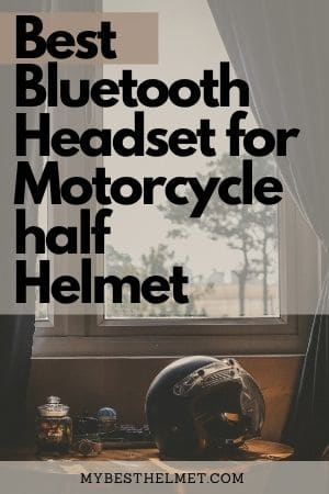 Best Bluetooth headset for motorcycle half helmet