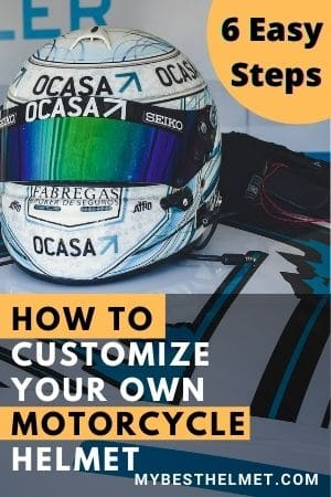 How to customize your own motorcycle helmet