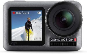 DJI Osmo Action camera for motorcycle helmet
