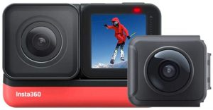 insta360 one R action camera for motorcycle helmet