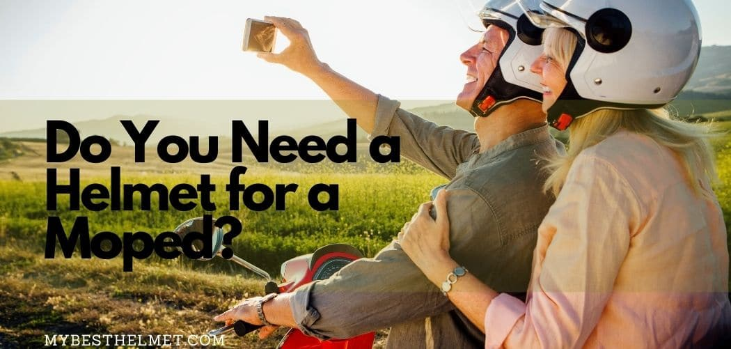 Do you need a helmet for a moped?